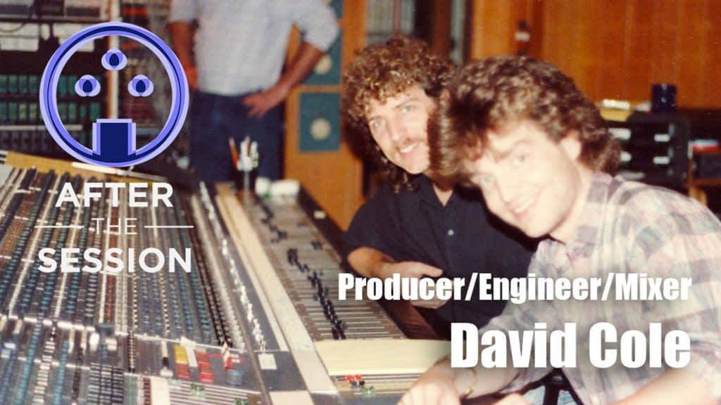 Recording Engineer David Cole After The Session Podcast