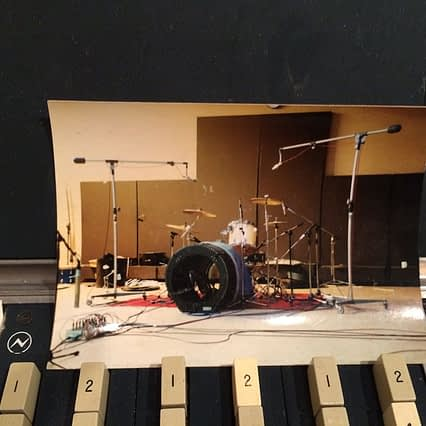 Holy shit. A drum setup photo from Nevermind