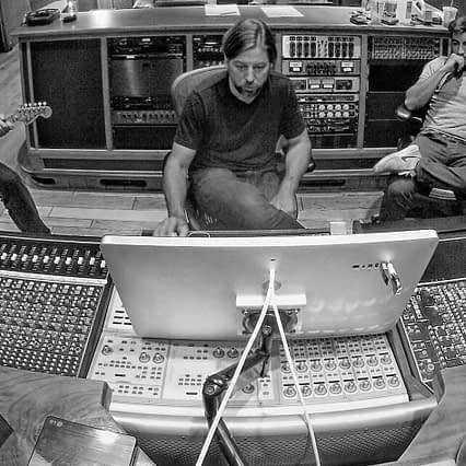 Mix Engineer Christian Cummings mixing in San Diego